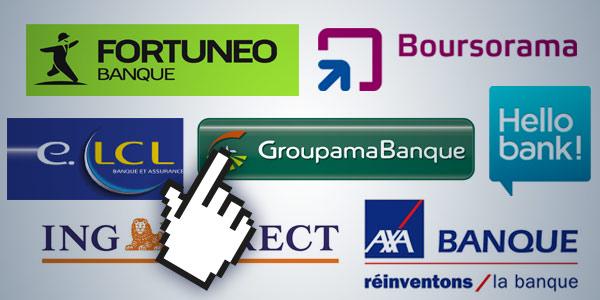 Banques françaises - les banques en ligne - La vie des entreprises