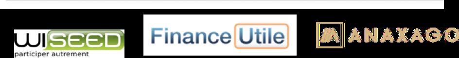Crowdfunding - logos des entreprises de titres de capital - La vie des entreprises