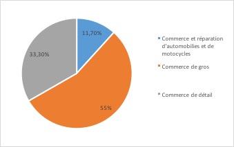 Commerce - les principaux indicateurs 2 - La vie des entreprises