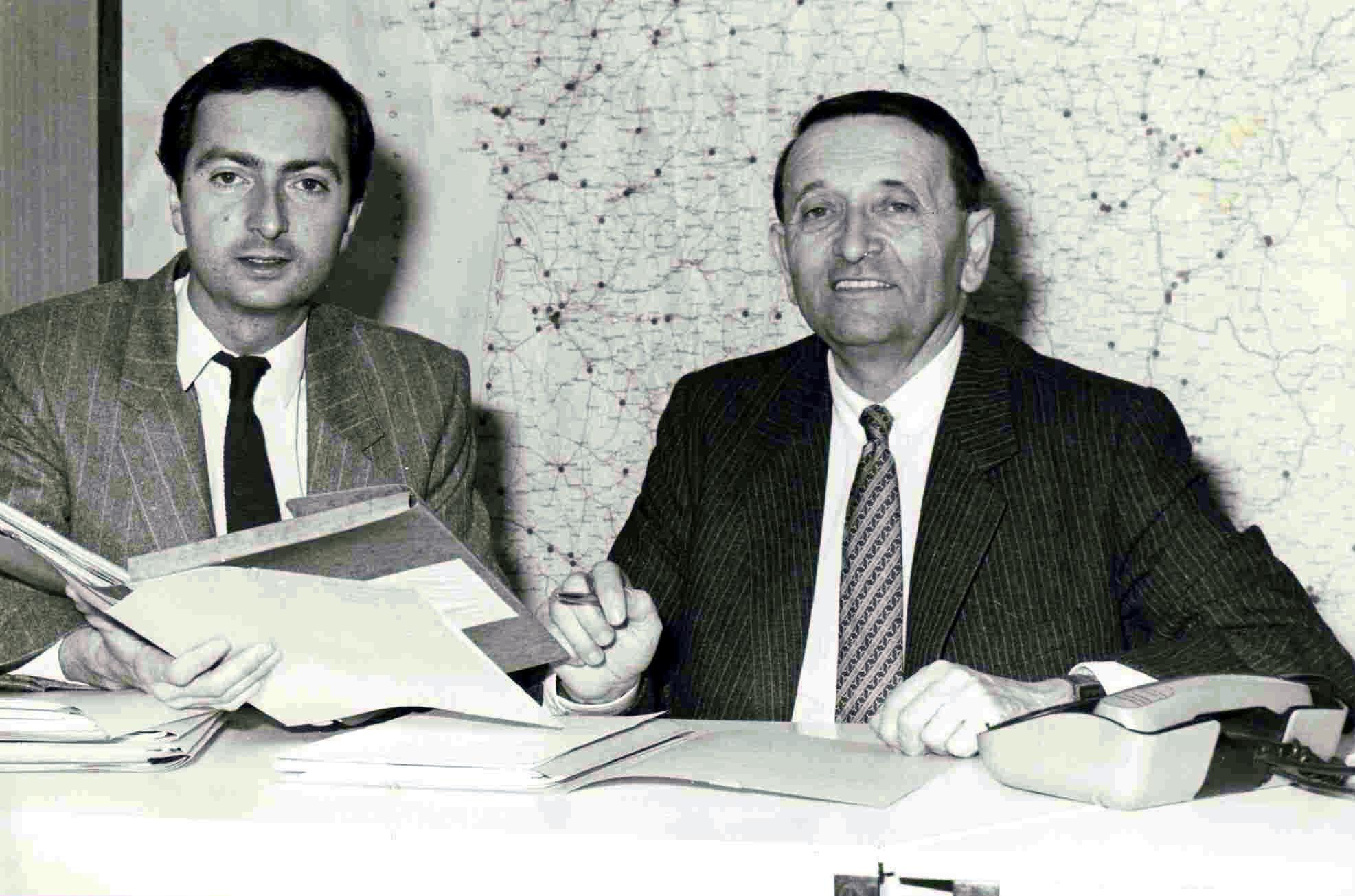 Michel-Edouard Leclerc - Lui et son père - La vie des entreprises