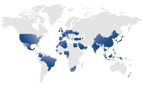 Axa entreprise - principales implantations géographique - la vie des entreprises