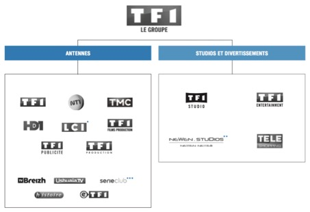Les activités de TF1 - Entreprise TF1 - La vie des entreprises